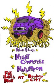 2012 - 11 30 - Roaming Storms, Night Committee, Napalmpom