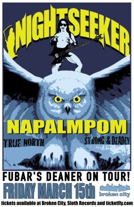 2013 - 03 15 - Nightseeker, Napalmpom