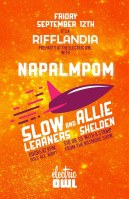 2014 - 09 12 - Napalmpom, Slow Learners, Allie Sheldan