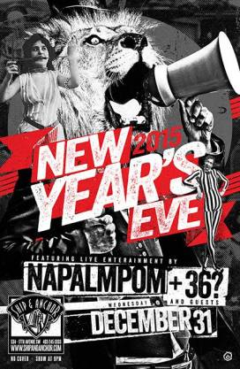 2014 - 12 31 - New Years Eve with Napalmpom, 36