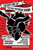 2015 - 06 30 - Chron Goblin, Napalmpom, HighKicks, Cowpunchers, Frankie McQueen