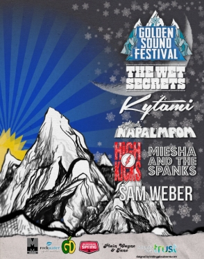 2016 - 02 20 - Golden Sound Festival w_ Wet Secrets, HighKicks, Kytami, Napalmpom, Sam Weber, Miesha