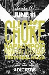 2016 - 06 11 - Choke, Napalmpom, Norwegian Icebreaker