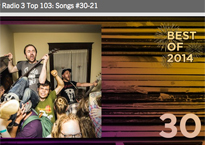 #30 on the CBC Music Top 103 indie songs of 2014